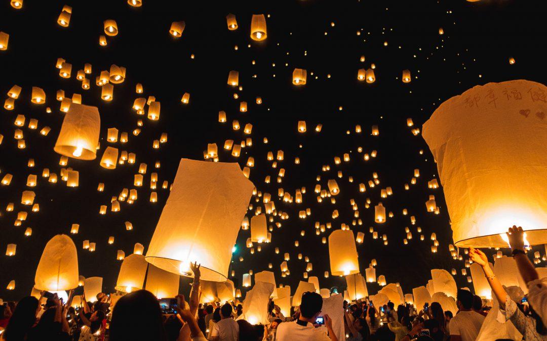Floating Lantern Festival Chiang Mai